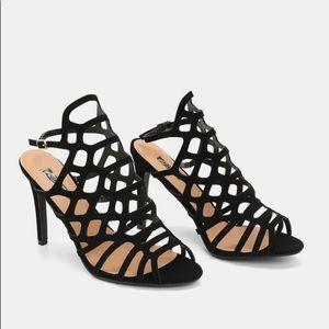 Ardene Caged Heeled Sandals